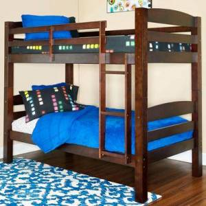 Powell Furniture Pembrook Bunk Bed by Powell Furniture in Espresso
