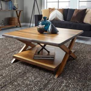 Homestyles Forest Retreat Coffee Table by Homestyles in Wood