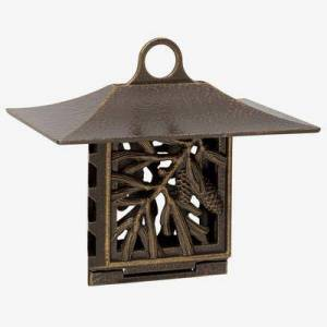 Whitehall Products Pinecone Suet Feeder by Whitehall Products in French Bronze