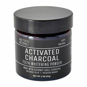 PRO TEETH WHITENING CO. Activated Charcoal Teeth Whitening Powder 60ml