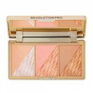 Revolution Pro Crystal Luxe Face Palette Peach Royale