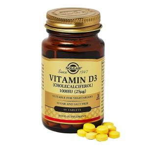 Solgar Vitamin D3 1000 IU (25 mcg) Softgels 90caps