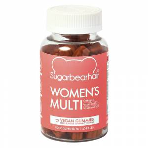 SugarBearHair Women& 39;s Multi Vitamins 1 Month Supply Vegan
