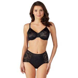 Le Mystere Plus Size Women& 39;s Lace Comfort Unlined Bra 2252 by Le Mystere in Black (Size 38 E)