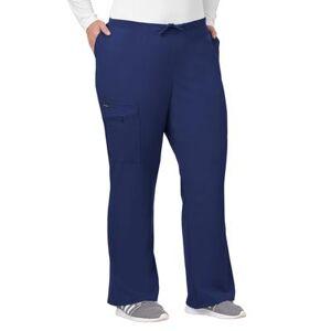 Jockey Encompass Scrubs Plus Size Women& 39;s Jockey Scrubs Women& 39;s Favorite Fit Pant by Jockey Encompass Scrubs in New Navy (Size 2X)
