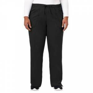 Jockey Encompass Scrubs Plus Size Women& 39;s Jockey Scrubs Women& 39;s Extreme Comfy Pant by Jockey Encompass Scrubs in Black (Size XLT)
