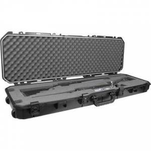 """Plano """"Plano AW2 All Weather Series Double Rifle/Shotgun Case with Wheels 52"""""""" Polymer Black"""""""
