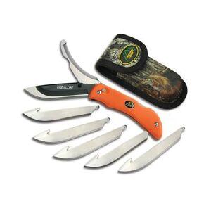 "Edge ""Outdoor Edge Razor-Pro Folding Hunting Knife 3.5"""" Drop Point 420 Stainless Steel Blade Kraton Handle"""