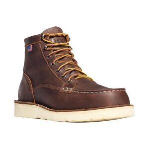 "Danner ""Danner Bull Run Moc Toe 6"""" Steel Toe Work Boots Leather Men& 39;s"""