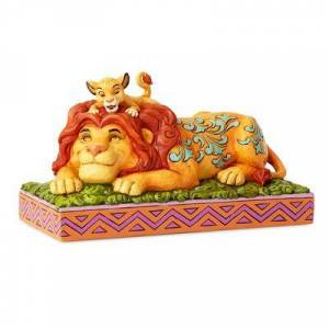 Jim Shore Simba and Mufasa & 39;& 39;A Father& 39;s Pride& 39;& 39; Figure by Jim Shore - Official shopDisney