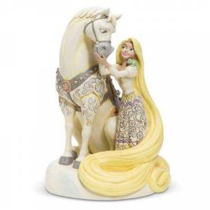 Jim Shore Rapunzel & 39;& 39;Innocent Ingenue& 39;& 39; White Woodland Figure by Jim Shore Tangled - Official shopDisney