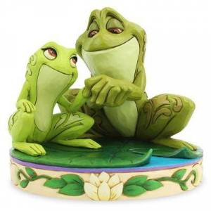 Jim Shore Tiana and Naveen & 39;& 39;Amorous Amphibians& 39;& 39; Figure by Jim Shore The Princess and the Frog - Official sh