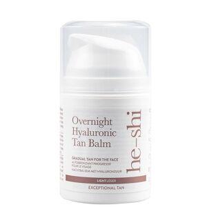 He-Shi - Facial Tan Overnight Hyaluronic Tan Balm 50ml for Women