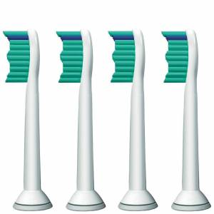 Philips - Toothbrush Heads Sonicare ProResults Standard Sonic Toothbrush Heads x 4 HX6014/26 for Men and Women