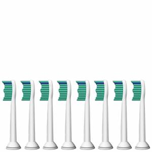 Philips - Toothbrush Heads Sonicare ProResults Standard Sonic Toothbrush Heads x 8 HX6018/26 for Men and Women