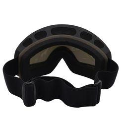 Customizable Section Adult Ski Goggles Double Layer Anti-fog Skiing Equipment Mountain Climbing Glasses Ski Snowfield Eye-protec