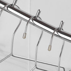 Clothes Hanger Hook Wall Mount Swing Arm Stainless Steel Coat Clothing Drying Holder Rack Hanger, 2PCS