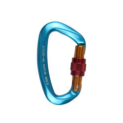 Outdoor Rock Climbing Security Safety Buckle Carabiner Hook Master Lock 25KN 20DC03