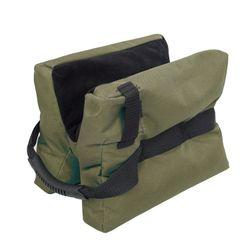 Outdoor Sniper Shooting Bag Gun Front Rear Bag Target Stand Rifle Support Sandbag Bench Unfilled Sandbag Hunting Accessory Bag