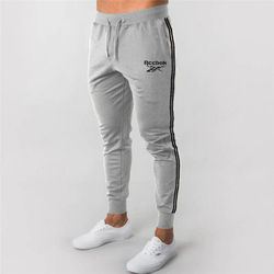 Autumn New Mens Jogging Pants Cotton Sports Running Gym Pants Slim Fit Elasticity Trousers Male Casual Fitness Sweatpants