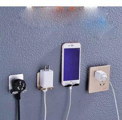 Mobile Phone Holder Stand Wall Mount Socket Charging Box Bracket Multifunction Holder For Mobile Phone Tablet