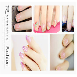 Holographic 3D Shinny Nail Glitter Polish Liner Brush Nails Decoration Varnish Manicure Pull Line Pen Nail Paint Lacquer C046