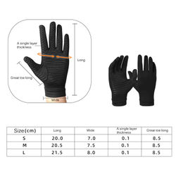 Gym Gloves Fitness Weight Lifting Copper Fiber Gloves Body Building Training Sports Exercise Sport Workout Glove For Men Women
