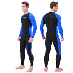Surfing Clothes MEN WetSuit Full Body suit Autumn Stretch Slim Quick-Dried Waterproof Diving Suit Swim Surf Snorkeling Free Ship