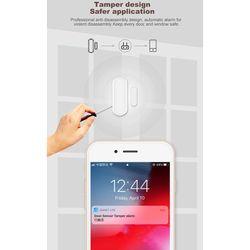 2Pcs Home Smart Spot Door Alarm Tuya WiFi Door Sensor Door Open Closed Detectors WiFi App Security Alarm System
