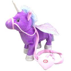35cm Unicorn plush toys Stuffed Animal Toy Electronic Walking Music unicorn toys for kids christmas toys baby toys 0 12 months