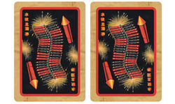 Bicycle Firecracker Playing Cards USPCC Firework Deck Poker Size Magic Card Games Magic Tricks Props for Magician