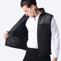 USB Infrared Heated Vest Jacket Winter Vest Dual System Temperature Control Dual System Temperature Control