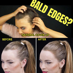 Hide Bald Edges Hair Root Cover Up Hair Shadow Stick Conceal Hairline Recession Hair Volume Plump Powder