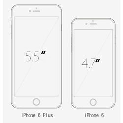 """All Tested Apple iPhone 6 6P 6Plus Used Mobile Phone With Touch ID 4.7""""/5.5 inch Smartphones 16/64/128GB iPhone 6 6P CellPhone"""