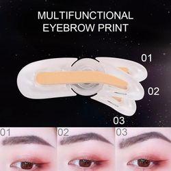 Double Color Eyebrow Powder Professional Makeup Palette Enhancers Eye Powder Brow Brows Up Stamp Eyebrow Make Eye Brow Shad J2J1