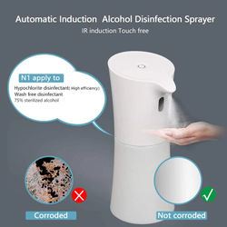 Big deal Disinfectant Dispenser Touchless 400 Ml Mist Spray Dispenser Automatic Mist Spray Dispenser