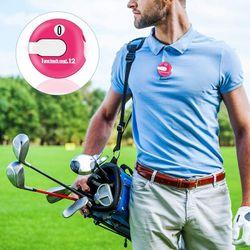 6PCS Golf Score Counter Mini Golf Stroke Counter Scorekeeper Up to 12 Shots Score,Outdoor Golf Sports Accessories