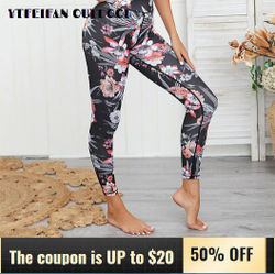 Gym Clothing New Flower Printed Yoga Fitness Suit 2 Piece Set Women Sports Bra and Leggings Activewear Comfortable Breathable