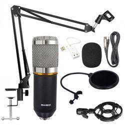 BM 800 Microphone Studio Microphone Professional microfone bm800 Condenser Sound Recording Microphone For computer