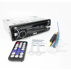 Detachable Car Radio 1 Din Bluetooth A2DP Stereo USB MP3 Audio Player SD Aux FM Tuner 7 Colors Lighting Head Unit PHYEE 4785BT