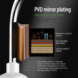 3000W Instant Tankless Electric Hot Water Heater Faucet Kitchen Instant Heating Tap Water Faucet with LED Digital Display EU Plu