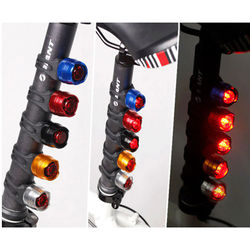 New Safety Waterproof Bicycle Light Rear Tail Light LED USB Rechargeable Mountain Bike Cycling Light Tail Lamp Warning Light