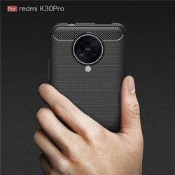 For Xiaomi Redmi K30 Pro 5G Case Redmi K30 Pro Zoom Soft Back Cover Shockproof Bumper Carbon Fiber Phone Case For Redmi K30 Pro