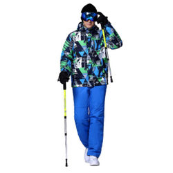 2018 Winter Snow jacket Men Ski Suit M-XXXL Female Snow Jacket And Pants Windproof Waterproof Colorful Clothes Snowboard sets