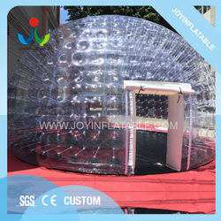 Joyinflatable Free Shipping Inflatable Transparent IglooTent With LED Light