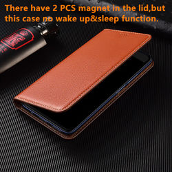 Litchi grain genuine Leather cards pocket phone case for Huawei Honor 20 Pro/Huawei Honor 20 phone bag magnetic holster cover