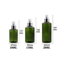 200ml Travel Refillable Portable Essential Oil Liquid Sprayer Empty Atomizer Makeup Spray Bottle Perfume Glass Atomizer