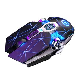 Professional Gaming Mouse 3200dpi 7 Buttons Mechanical Wired Backlit Silent Computer Mouse