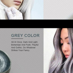 Temporary Hair Color Wax Men Diy Mud One-Time Molding Paste Dye Cream Hair Gel for Hair Coloring Styling