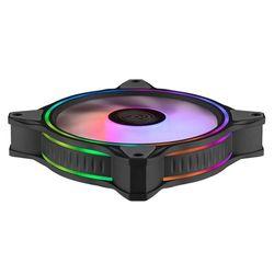 MF120 HALO Dual Ring Addressable RGB Fan for PC Computer Case Liquid Radiator Cooler Fan Black/White